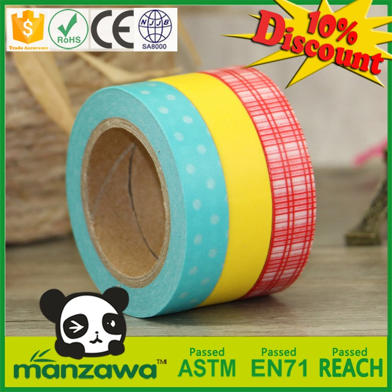 Adhesive paper to cover furniture deco tape wholesale grey masking washi tape