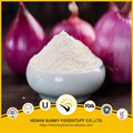 White color air dried red onion powder