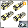 194 168 led light bulb 12v led w5w 5050 5SMD car lights led smd t10 canbus