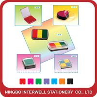 Multi- color stamp pad
