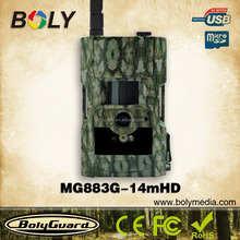 3G hot selling MMS GPRS night vision hunting trail scouting video camera