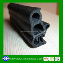 EPDM rubber seal cars auto parts rubber strip for window