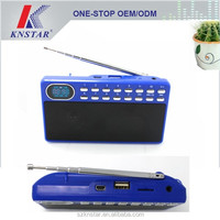Digital USB FM radio mp3 player, Mini radio