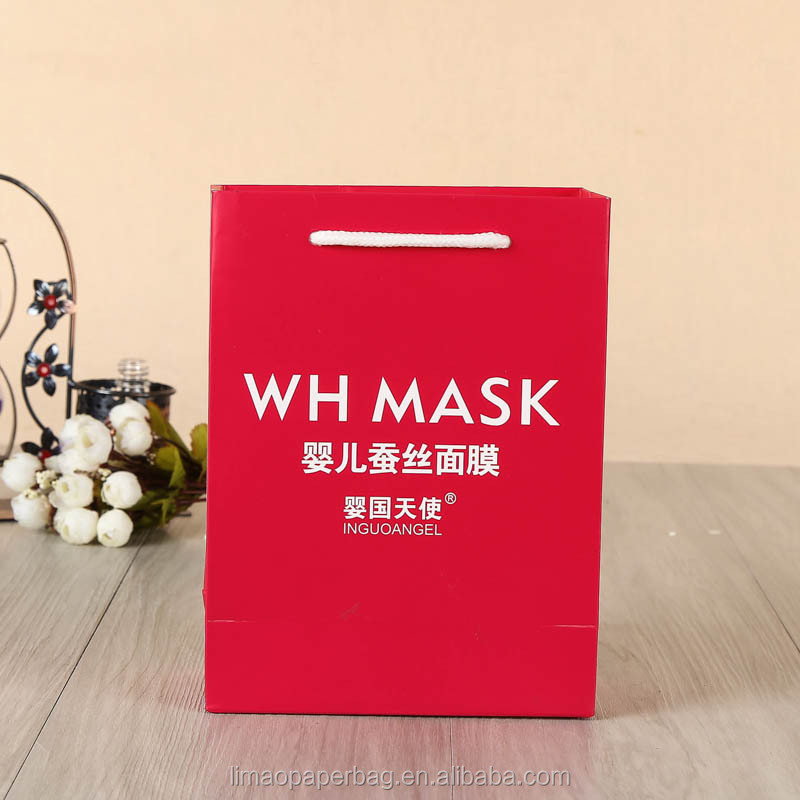China factory custom famous brand paper bag