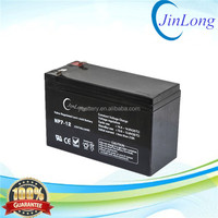 12v 7ah rechargeable ups agm storage battery with long service life