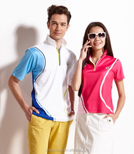 Hot sale short sleeve sublimation slim polo shirt