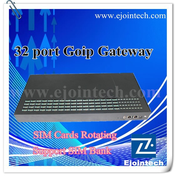 Ejoin voip analog gateway, Gsm Gateway 32/128,goip32 voip gateway,new solution to reduce the risk of SIM Cards Blocked