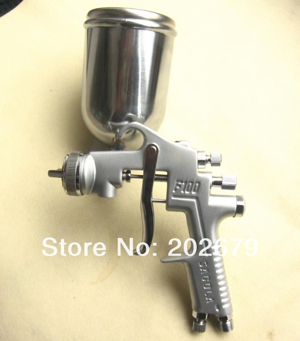 F 100g pistola 400ml contenedor de alta presi n de la for Barnizado de muebles a pistola