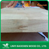 Manufacture 25mm decorating solid wood panel/Linyi wooden factory / finger joint panel, board