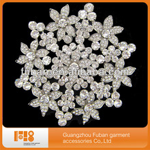 Chinese goods wholesale fashion costume bridal crystal brooch