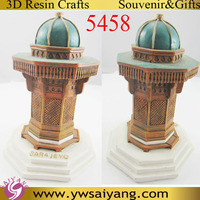 5458 Sarajevo Souvenir 3D Resin Building Bosnia 3D Decor Polyresin Table Gifts 3D Polyresin