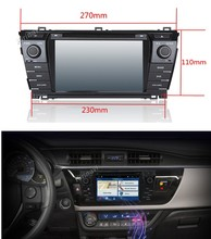 Kirinavi WC-TC7019 android 5.1 car multimedia system for toyota corolla 2013 2014 2015 2016 car dvd player radio