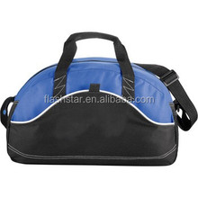 "Zippered Custom Duffel Bag - 18"", promotional duffel bag, sport bag"