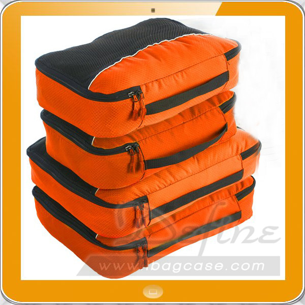 Packing Cubes 4pcs Value Set for Travel and Storage - Plus 6pcs Organizer Bags