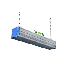 Aluminum white body waterproof IP65 170lmw led linear highbay 100watts with 5 years warranty