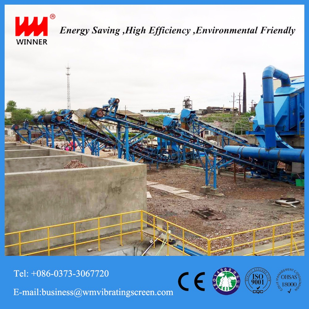 Construction waste disposal equipment