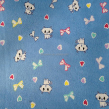 Wholesale cotton flannel printed and dyed fabric 20*10*40*42 at factory price