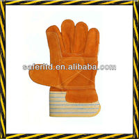 1242 rubber cuff patch palm labour work safety gloves