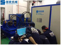 motor test for kobelco hydraulic motor test machine