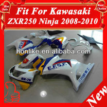 Motorcycle Fairings for KAWASAKI Ninja 250R EX 250 2008 2009 2010 2011 EX250 ZX250R 08 09 10 11 ABS Plastic Injection Mould