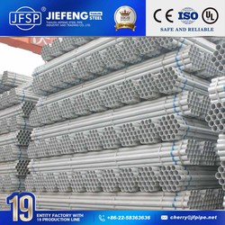 jis g3444 hot galvanized scaffolding pipe/pipes 6 meter