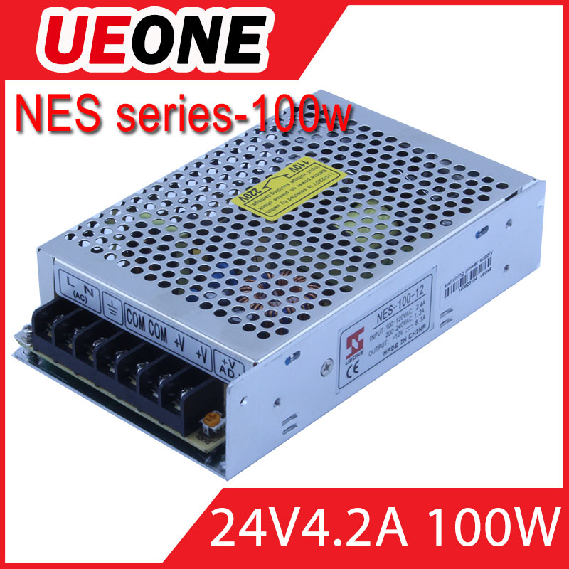 Hot sale 100w 24v 4.2a switching power supply