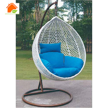 Rattan hanging bed chair round rattan outdoor bed outdoor swing