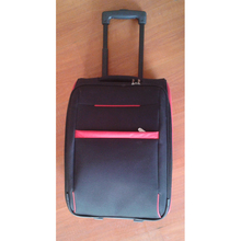 cheap EVA size fabric trolley luggage bag for middle east market