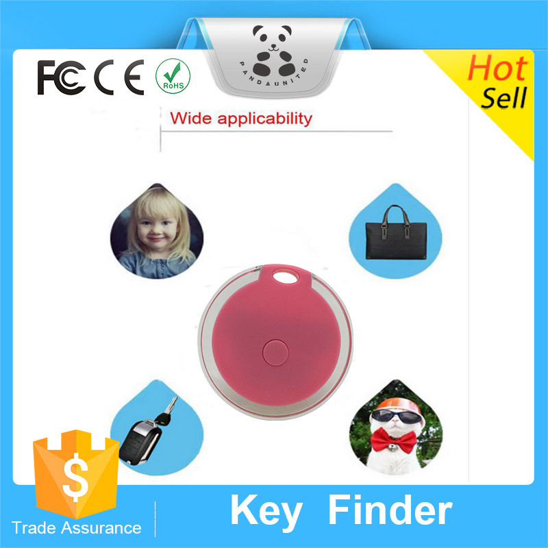 Promotional Wireless Anti Lost Alarm with Bluetooth Tracker Remote Control Key Finder with Battery for iPhone Samsung Phones