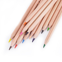 Smooth writing children fluorescent colored pencil