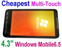 Best 4.3inch 4.3 inch Windows Mobile Smart Phone with windows mobile 6.5 OS