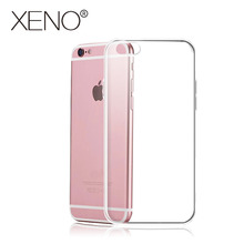 Transparent smart mobile phone bag 8 7 6 plus Case For iphone X 8 7 6 Glossy Phone Case TPU Ultra Thin Soft silicone protector