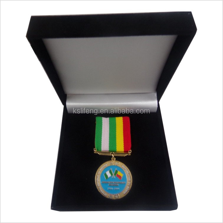 paper box packaging <strong>black</strong> medal box