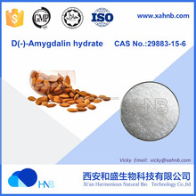GMP factory supply Amygdalin Vitamin B17 / D(-)-Amygdalin hydrate CAS 29883-15-6