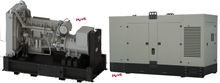 600 kVA Volvo Diesel Generator, new, with original Volvo engine, made in EU, open frame or soundproofed canopy