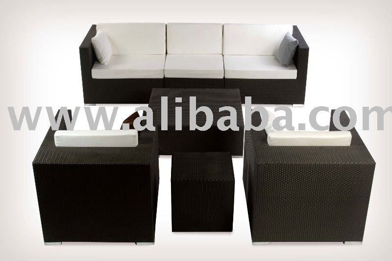 Continental Outdoor Dining furniture Synthetic Woven