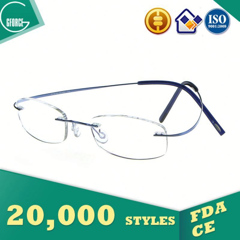 Metal Frame, fashionable safety glasses, 2014 titanium optical frame