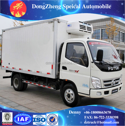 13500L refrigerator truck small refrigerated trucks/refrigerator frozen fish transport truck