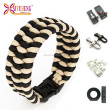 rescue rope safety paracord bracelet buckle bangle oem
