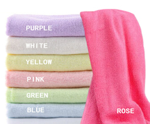 high quality super soft organic bamboo face towel sets bamboo towel for family use customized