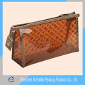 10years manufacturer of eco plastic cosmetic pvc bag