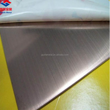 ASTM Hairline Surface 6mm Thick 430 Stainless Steel Plate