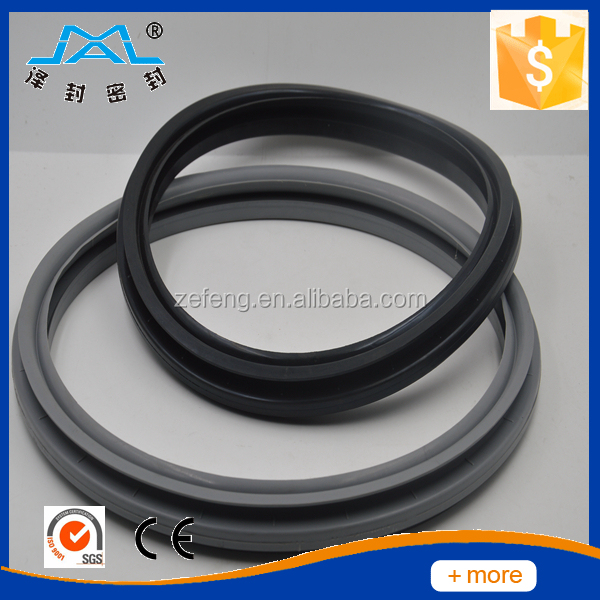 GASKET,DOOR 75H-85 LITER WASHER-BLACK 432184102