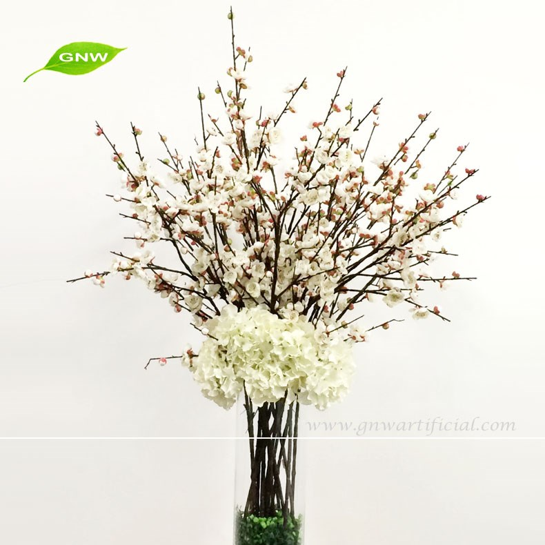 GNW CTR1605008-B Romantic Pink cherry blossom centerpieces for wedding decoration