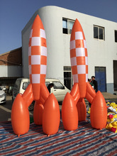 inflatable rocket