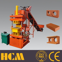 LY2-10 interlocking clay block making machines/ automatic brick machine for clay