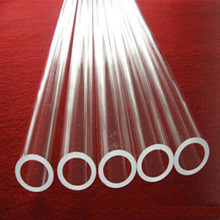 high clear acrylic hollow tube large stock