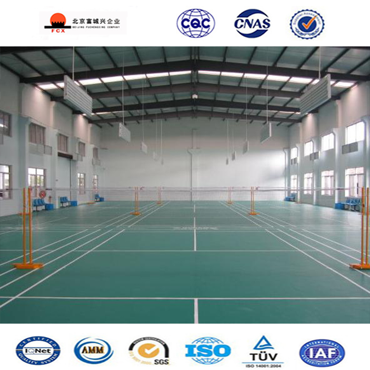 Factory Fabricated Fast Build Prefab Structure Steel Hall