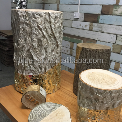 Customized Artificial Tree Stumps Shop Window Decoration