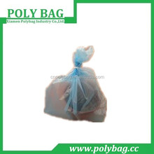 virgin or recycled material clear blue HDPE/LDPE plastic garbage bag trash bag waste bag bin liner